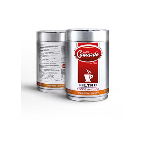 Hạt cafe 100% Arabica Filtro Hi tech 250g (can)