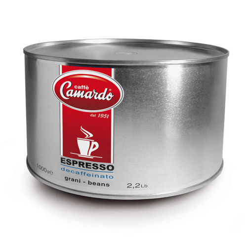 Hạt cafe Espresso Hi tech Decaffeinated 1Kg (can)