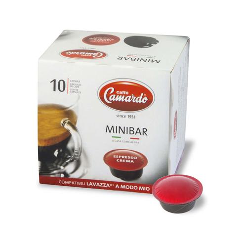 Capsule cafe Mio Espresso Crema 100% arabica
