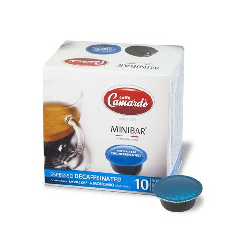 Capsule cafe Mio Espresso Decaffeinated