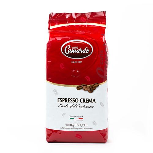 Hạt cafe Camardo espresso crema 1kg