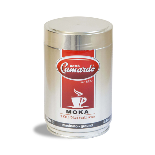Macinato moka hi tech 100% arabica 250g (can)
